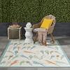 "Waverly Sun & Shade ""Retweet"" Multicolor Indoor/Outdoor Area Rug by Nourison - image 2 of 4"
