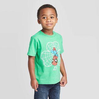 Toddler Boys' Marvel Spider-Man  T-Shirt - Green 2T