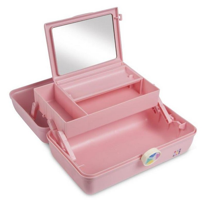 Retro Caboodles On the Go Girl-Millennial Pink - image 1 of 3