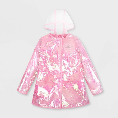 Girls' Disney Princess Rain Jacket - Pink - Disney Store