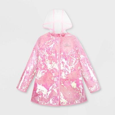 Girls' Disney Princess Rain Jacket - Pink - Disney Store