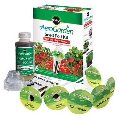 Miracle-Gro AeroGarden Heirloom Cherry Tomato Seed Pod Kit (6-Pod)