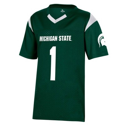 NCAA Michigan State Spartans Boys' Short Sleeve Jersey