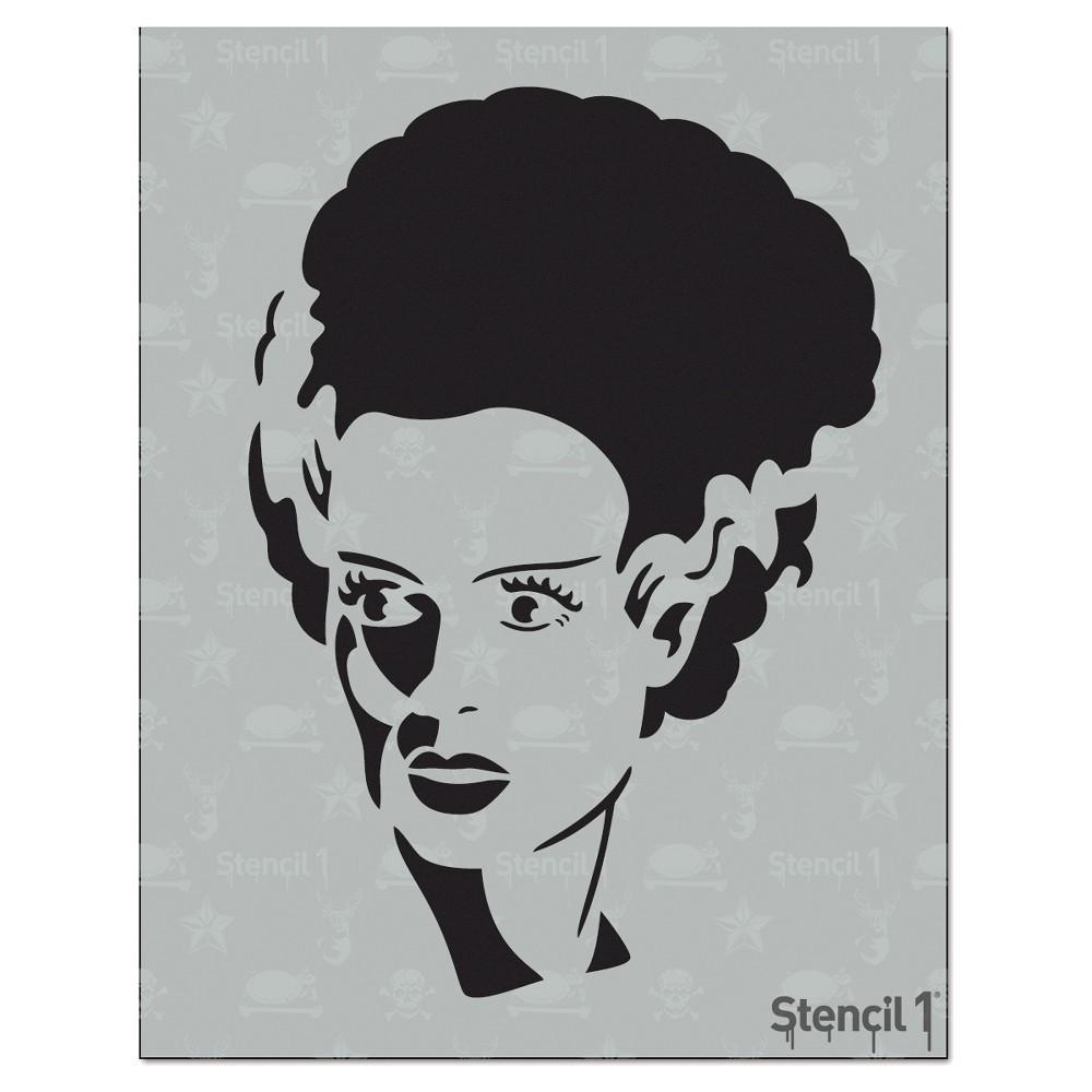 Stencil1 Bride Frank Stencil 8 5 34 X 11 34