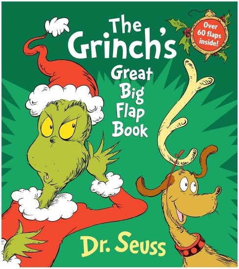 Grinch's Great Big Flap Book (Hardcover) (Dr. Seuss) - image 1 of 1