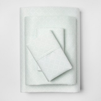 Performance Solid Sheet Set (Full) Morning Frost 400 Thread Count - Threshold™