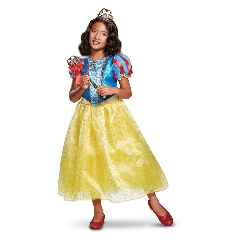 Girls' Disney Princess Snow White Halloween Costume - image 1 of 1