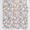 "2pc 84""x40"" Esina Light Filtering Honeycomb Window Curtain Panels Gray/Yellow - Project 62™ - image 3 of 4"