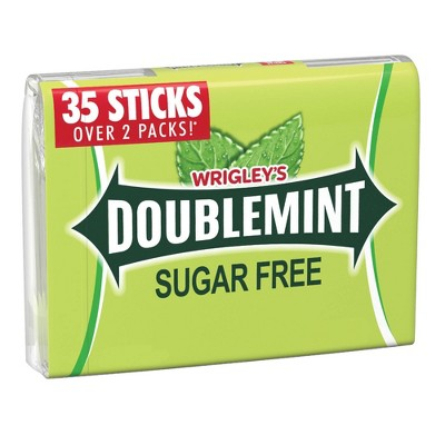 Doublemint 35 Sugar Free Mega Pack Gum - 4.7oz
