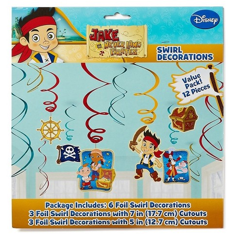 Jake And The Never Land Pirates Hanging Party Decorations Target