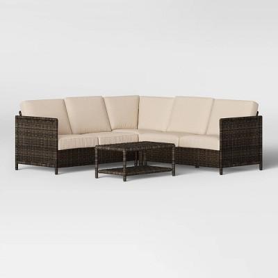 Monroe Sectional Patio Seating Set - Threshold™