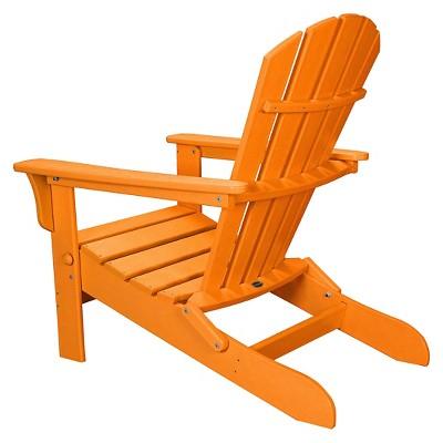 Merveilleux POLYWOOD® St Croix Orange Patio Adirondack Chair   Exclusively At Target :  Target