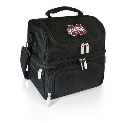 NCAA Mississippi State Bulldogs Pranzo Dual Compartment Lunch Bag - Black