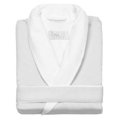 Platinum Bath Robe L/XL White - Cassadecor