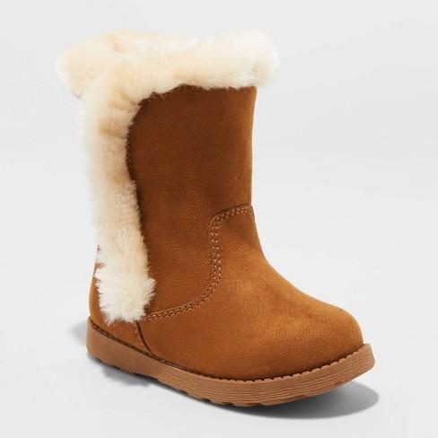 Toddler Girls' Katrina Shearling Boots - Cat & Jack™ - image 1 of 3