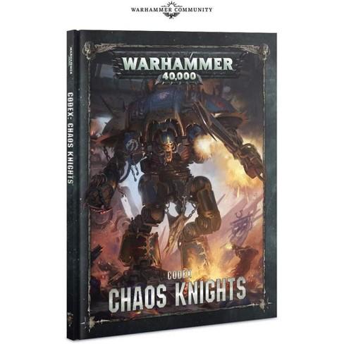 Warhammer 40k 40,000: Codex: Chaos Knights Hardcover - image 1 of 1