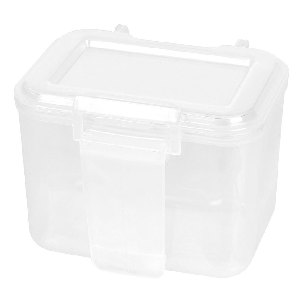 Image of IRIS Small Portable Utility Storage Cases - White