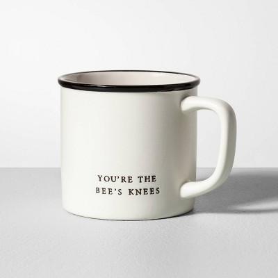 16oz Stoneware Mug You're the Bee's Knees Cream - Hearth & Hand™ with Magnolia