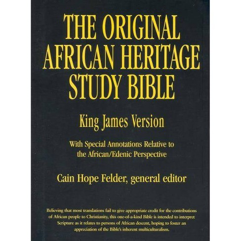 Original African Heritage Study Bible-KJV - (Leather_bound) - image 1 of 1