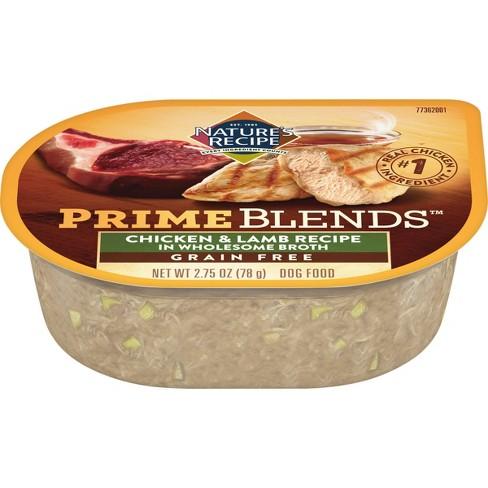 Nature's Recipe Prime Blends Wet Dog Food - 2.75oz - image 1 of 4