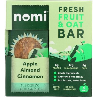 Nomi Bar - Apple Almond Cinnamon - 4pk