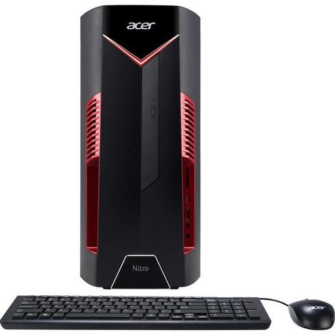 Acer Nitro 50 Desktop Intel i7-8700 3.20GHz 8GB Ram 1TB HDD Windows 10 Home - Manufacturer Refurbished - image 1 of 4