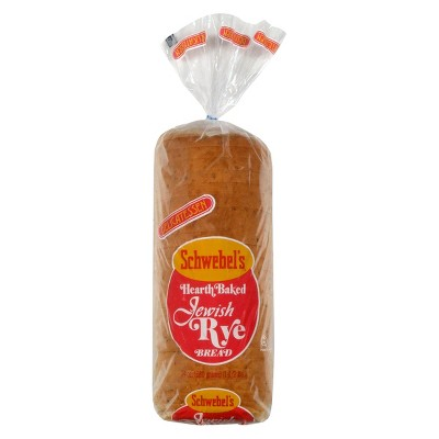 Schwebel's Jewish Rye Bread - 24oz