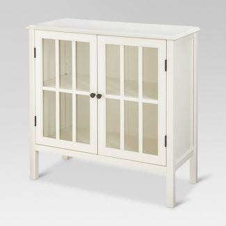 Windham 2 Door Accent Cabinet Shell White - Threshold™