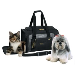 Sherpa Airline Approved Dog Carrier - Black - M