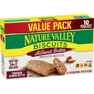 Nature Valley Biscuits with Almond Butter - 10ct