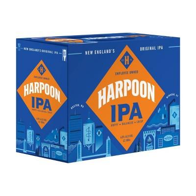 Harpoon IPA Beer - 12pk/12 fl oz Cans
