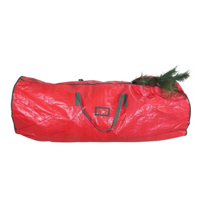 "Northlight 53"" Red and Green Artificial Christmas Tree Storage Bag"
