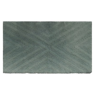Textured Stripe Bath Rug (23 X38 )Moonlight Jade - Project 62™ + Nate Berkus™