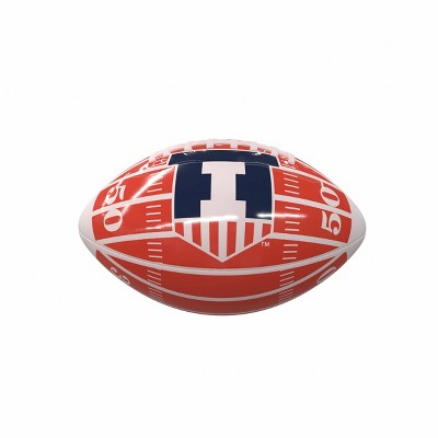 NCAA Illinois Fighting Illini Field Mini-Size Glossy Football