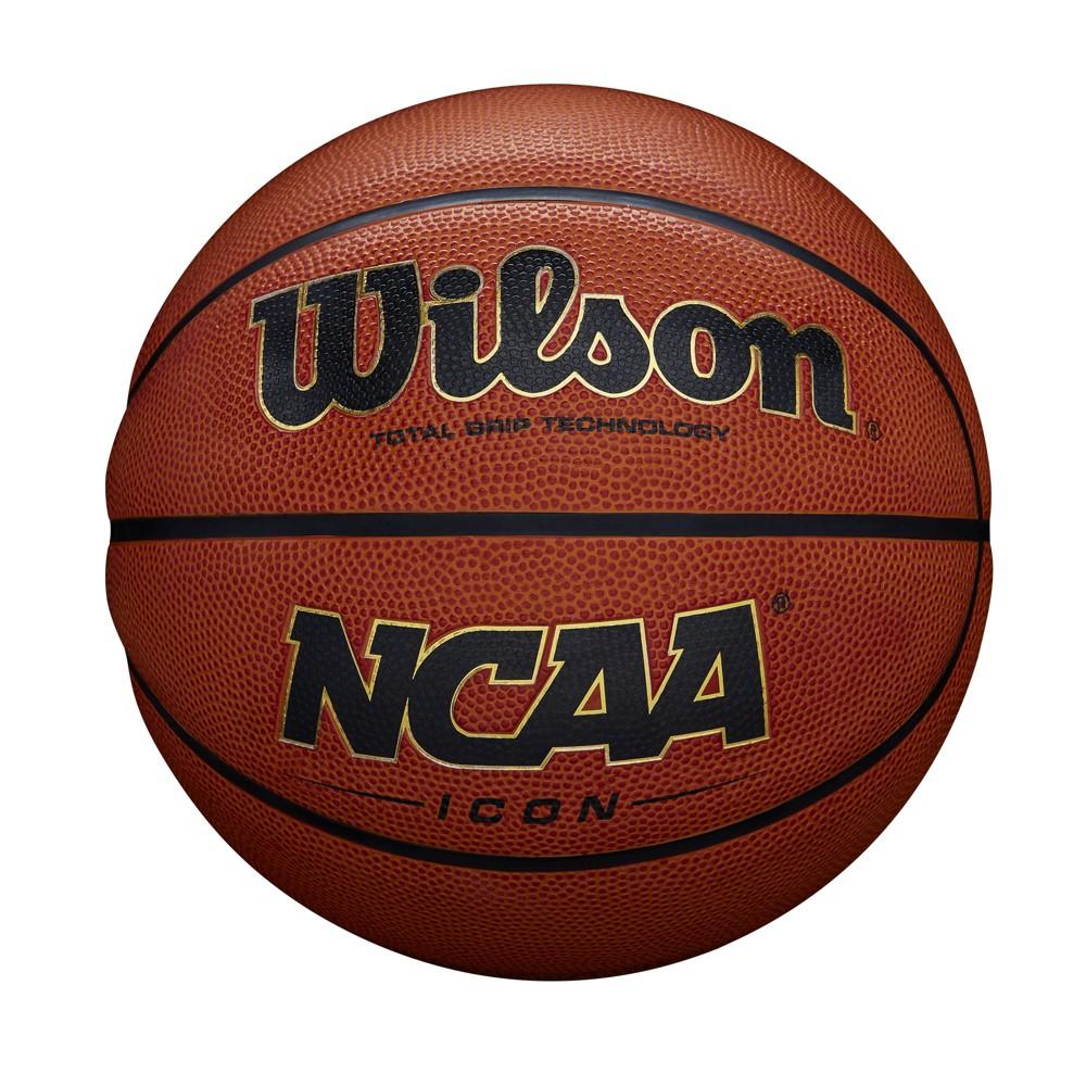 Wilson Icon 29.5 Basketball, Hyper Orange I