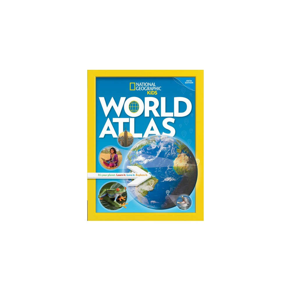 National Geographic Kids World Atlas - 5 Updated (Hardcover)