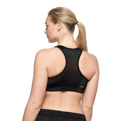 b829175340 Women s Plus-Size Compression Zip Front Sports Bra - C9 Champion®   Target