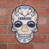 NFL Los Angeles Chargers Small Outdoor Skull Decal - image 2 of 2