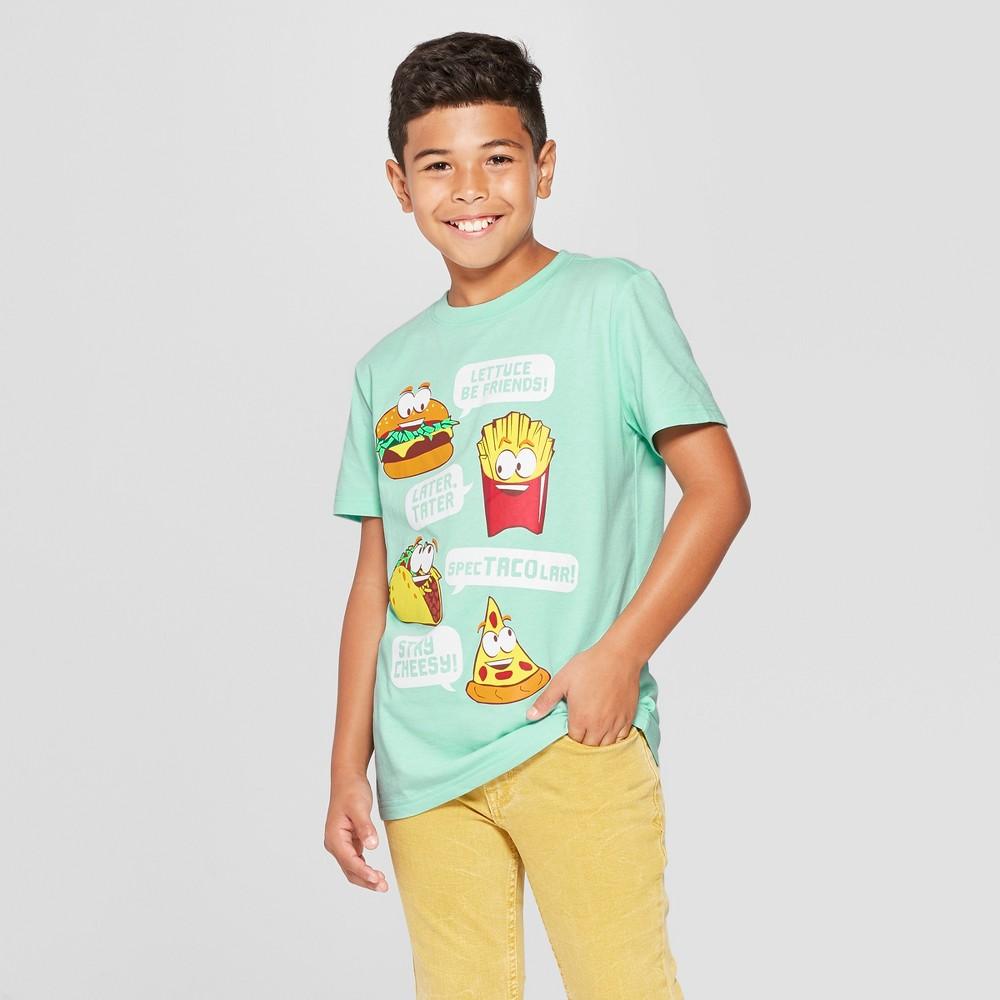 Boys' Food Short Sleeve Graphic T-Shirt - Cat & Jack Green XL