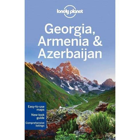 Lonely Planet Georgia, Armenia & Azerbaijan - (Travel Guide) 5 Edition (Paperback) - image 1 of 1