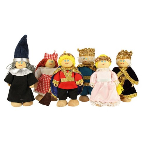 Bigjigs toys Wooden Fairytale Doll Set - image 1 of 1