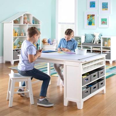 Living & Learning Kids' Art Table and Stool Set - Martha Stewart