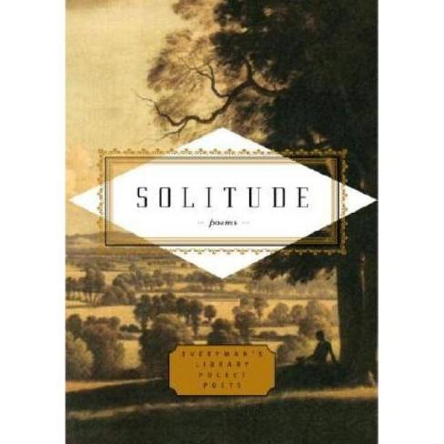 Solitude - (Everyman's Library Pocket Poets) (Hardcover) - image 1 of 1