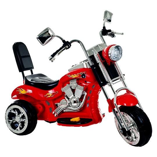 Trademark Global Rocking 3 Wheel Chopper - Red image number null