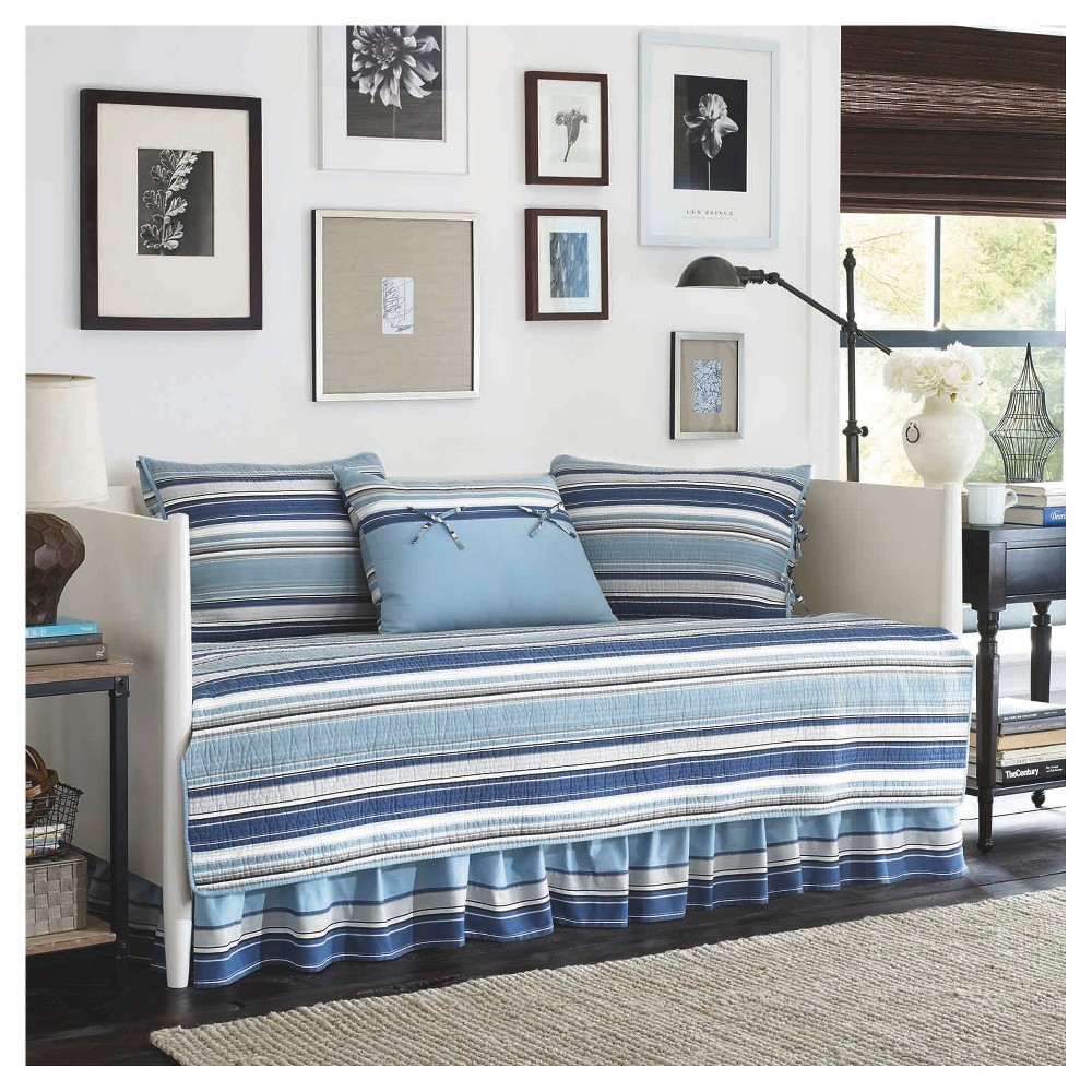 Stone Cottage Fresno 5 Piece Daybed Set - Blue (Daybed)