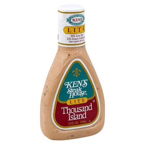Ken's Steakhouse Lite Thousand Island Dressing - 16oz - image 1 of 1