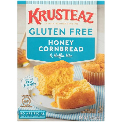 Baking Mixes: Krusteaz Gluten Free Honey Cornbread Mix