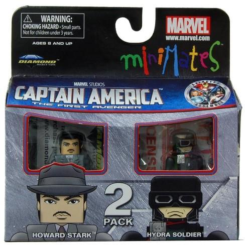 Diamond Comic Distributors, Inc. Marvel Minimates Series 40 Howard Stark & Hydra Soldier - image 1 of 1