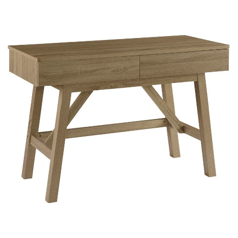 Tracey Writing Desk With Drawer Gray - Linon - image 1 of 2