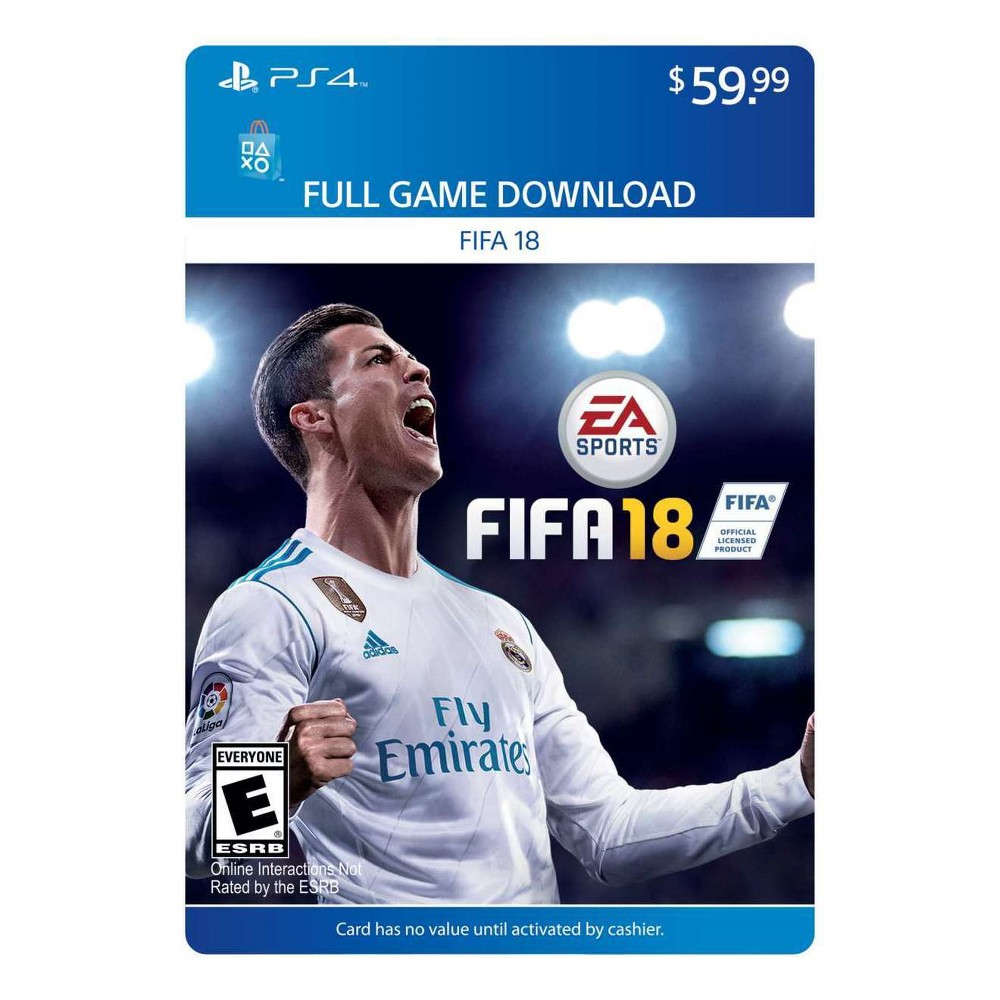 Fifa 18 - PlayStation 4 (Digital)